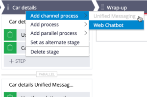 Channel specific parallel process (Platform version 8.5 and onwards)