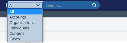 Pega CustomerService Search DSDropDown.jpg