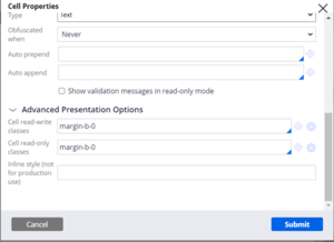 Settings to remove extra margins from the Marital status radio button